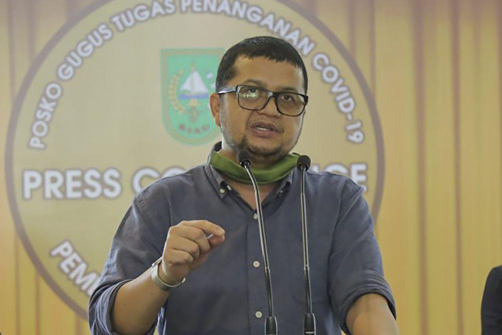 10 Kabupaten dan Kota di Riau Terpapar Covid-19