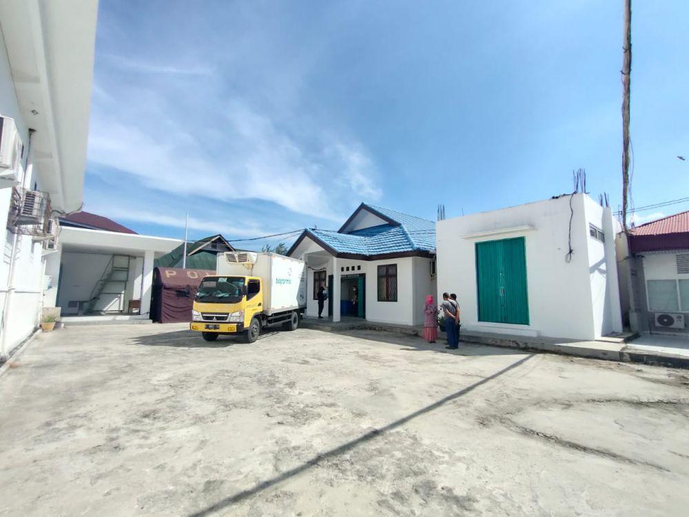 11.490 Vial Vaksin Tahap Dua Tiba di UPT Kesehatan Pemprov Riau