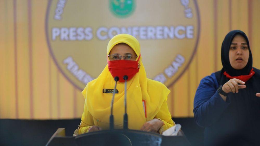 1.319 Kasus Positif Covid-19 di Riau,  195 Isolasi Mandiri