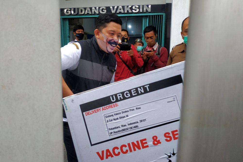 17.960 Dosis Vaksin Didistribusikan, Hari Ini Keempat Kabupaten/Kota