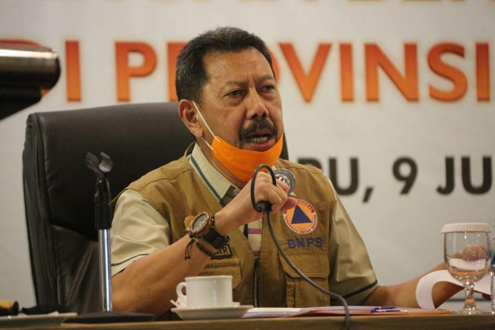 2020, Penurunan Karhutla Di Riau Sebanyak 56,5 % Dibandingkan Tahun 2019