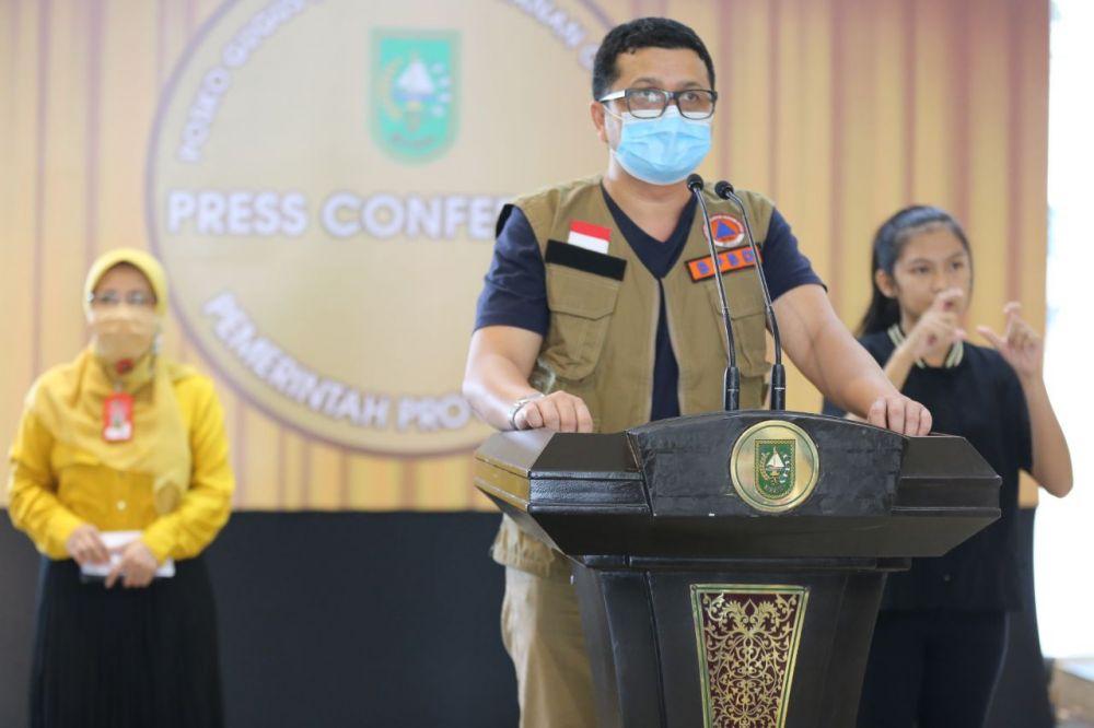 23 Pasien Positif Covid-19 Provinsi Riau Masih Dirawat