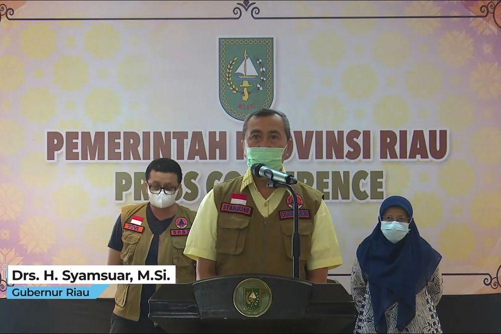 4 Daerah di Riau Masuk Zona Merah
