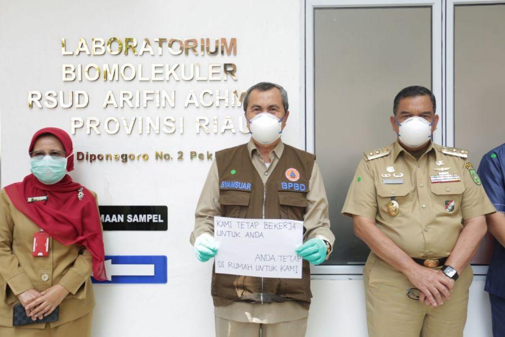 47.699 Spesimen Swab di Riau Telah Diperiksa