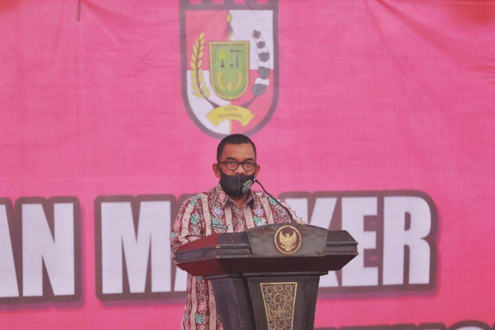 Adaptasi Kebiasaan Baru, Pemprov Riau Akan Terus Edukasi Masyarakat Patuhi Protokol Kesehatan