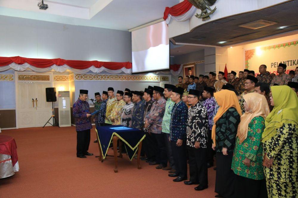 Alaidin Koto Resmi Pimpin ICMI Orwil Riau