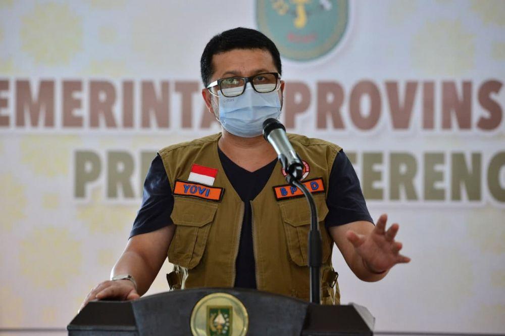 Angka Kasus 26 Mei Capai 739, Indra Yovi: Itu Kasus Harian Tertinggi di Riau