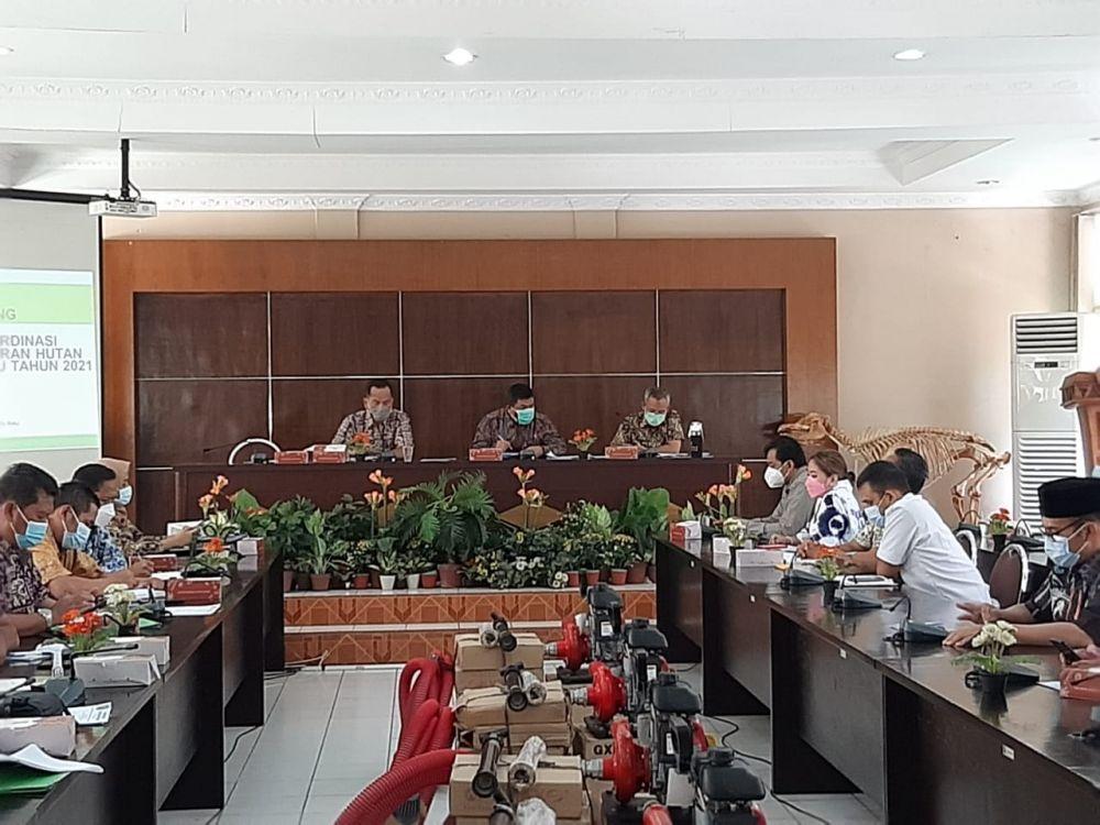 Antisipasi Karhutla, DLHK Riau Undangan Perusahaan Perkebunan dan Kehutanan