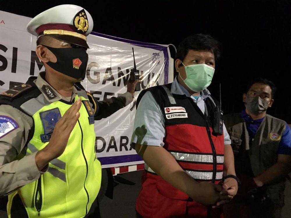 Antisipasi Kecepatan Pengendara di Tol Pekanbaru-Dumai, Satlantas Polda Riau Gelar Razia