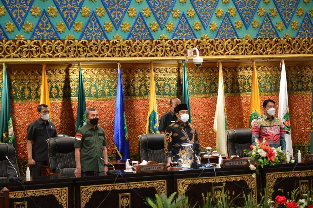 APBD P Riau 2021 Naik Jadi Rp 9,680 Triliun, Gubri Syamsuar : Penanganan COVID-19 Masih Jadi Prioritas