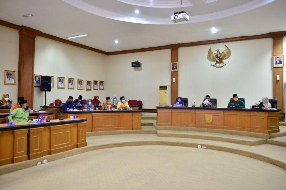 Asisten I Setdaprov Riau Pimpin Rapat Lanjutan Hasil Kesepakatan Forum Perangkat Daerah
