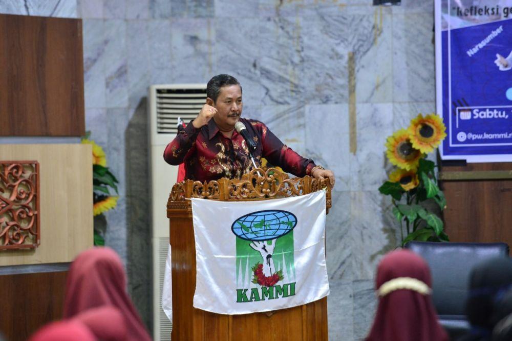 Asisten I Setdaprov Riau Buka Acara Milad KAMMI ke-23