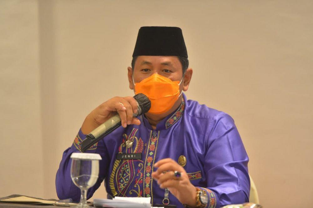 Asisten I Setdaprov Riau Hadiri Pelantikan DPW Organisasi Santani Provinsi Riau