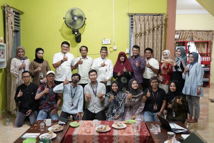 Asisten I Setdaprov Riau Hadiri Rapat Rutin Monitoring Pelaksanaan Vaksinasi Covid-19 Secara Virtual