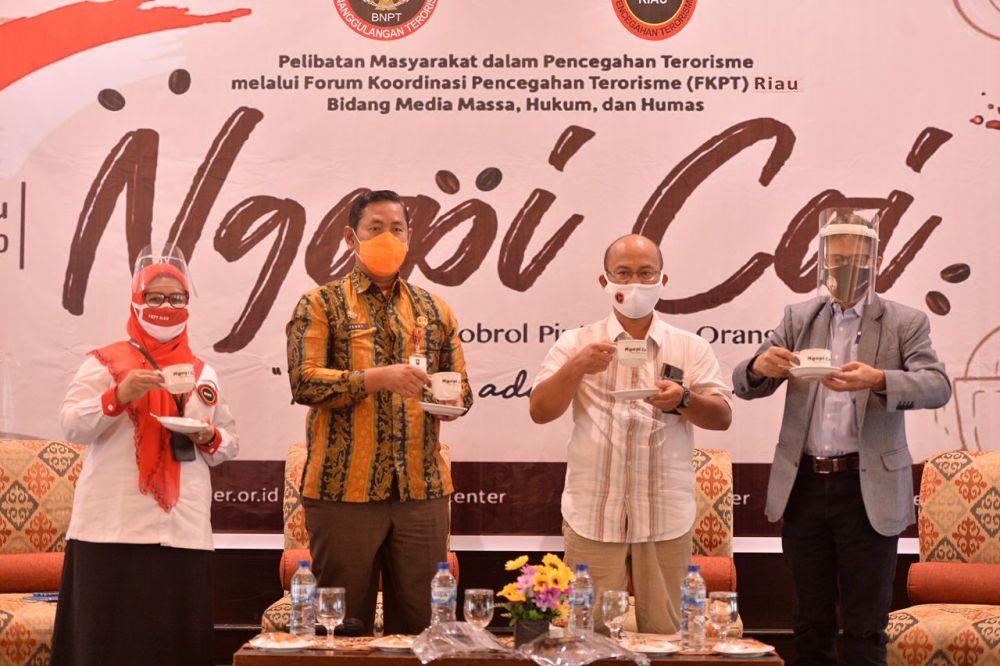 Asisten I Setdaprov Riau: Paham Radikalisme dan Terorisme Adalah Musuh Bersama