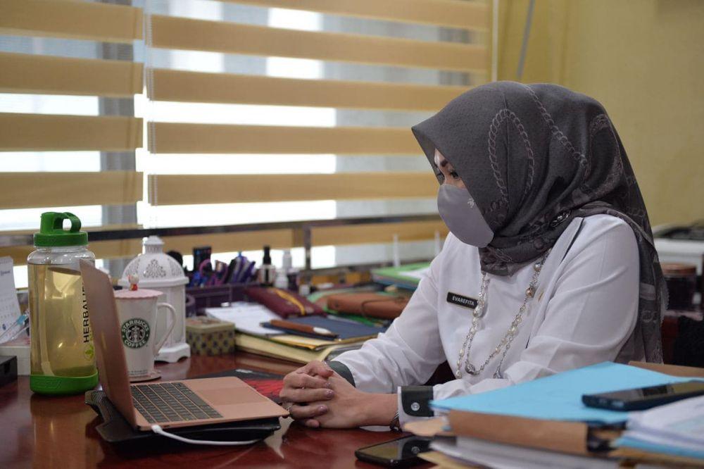 Asisten II Setdaprov Riau Hadiri Jakarta Food Security Summit-5 Secara Virtual