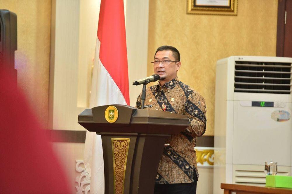 Asisten III Setdaprov Riau Ajak OPD Dorong Keterbukaan Informasi