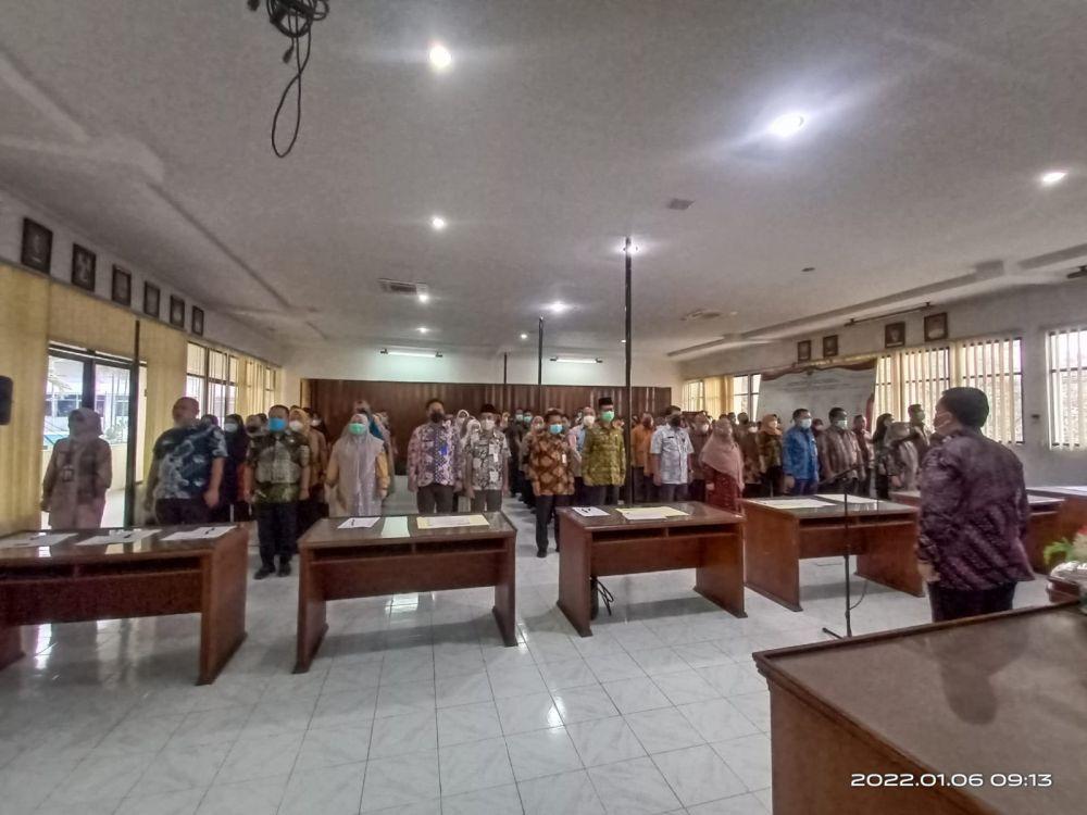 ASN Inspektorat Riau Tandatangani Pakta Integritas