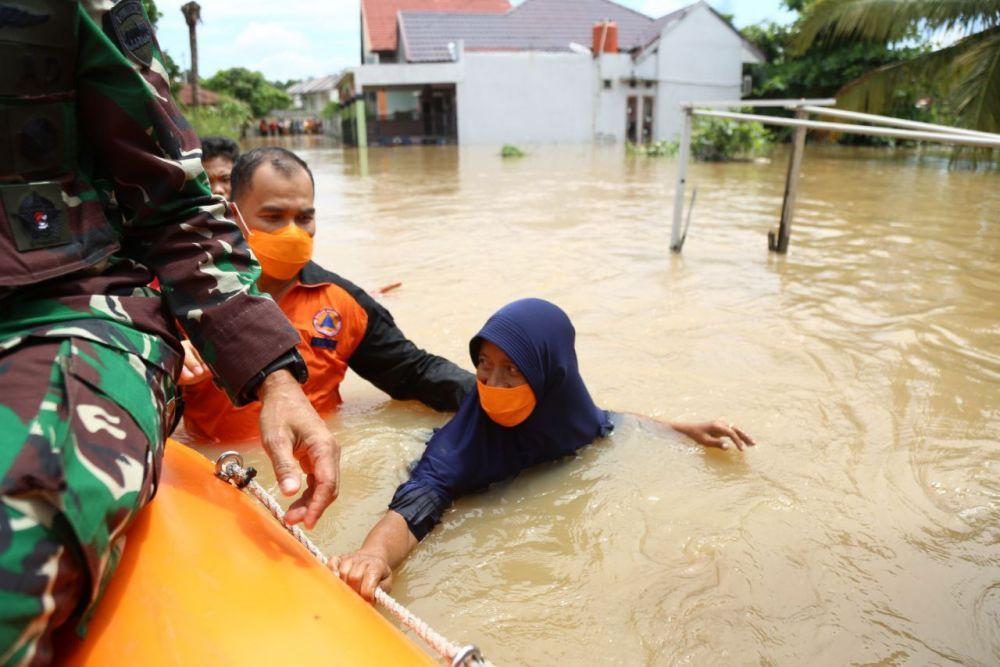 Banjir di Provinsi Riau Terjadi di Tiga Kabupaten/Kota