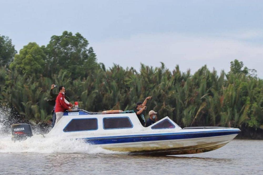 BBKSDA Riau Lakukan Survei usulan Kawasan Ekosistem Esensial di Inhil