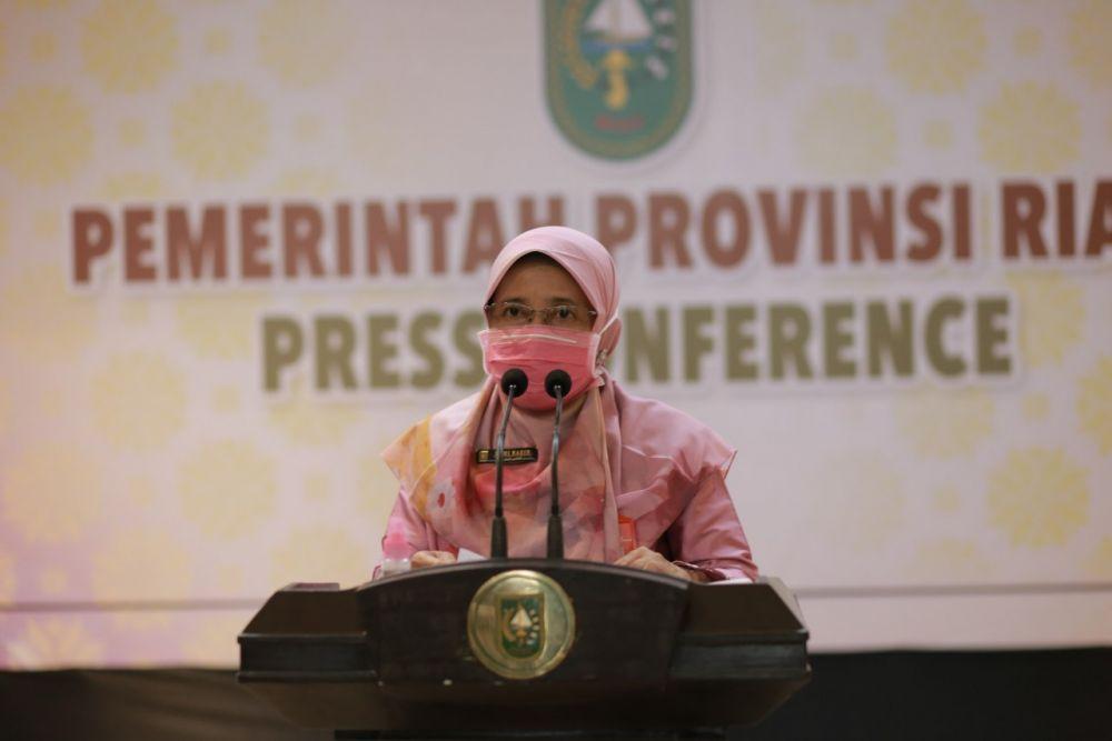 Belasan Ribu Pasien Positif Covid-19 di Riau Sudah Sembuh