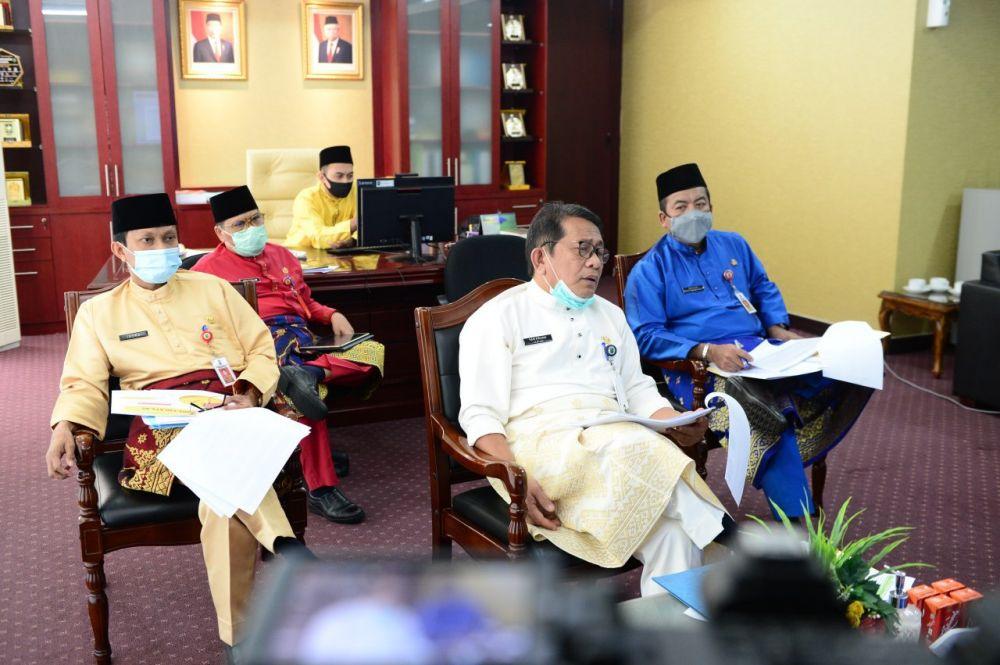 Berikut Realisasi Serapan APBD Provinsi Riau