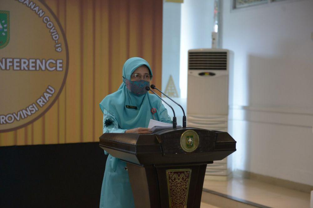 Bertambah 35 Orang, Peningkatan Pasien Positif Covid-19 Riau Hasil Swab Massal di Berbagai Daerah dan Tracing Kontak