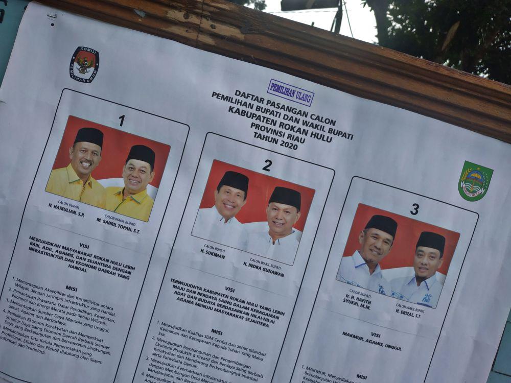 Besok KPU Rohul Gelar Pleno Penetapan Calon Kepala Daerah Terpilih