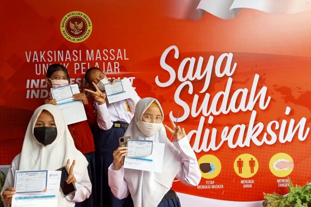 BIN Daerah Riau Kembali Vaksinasi Massal 11 Ribu Peserta