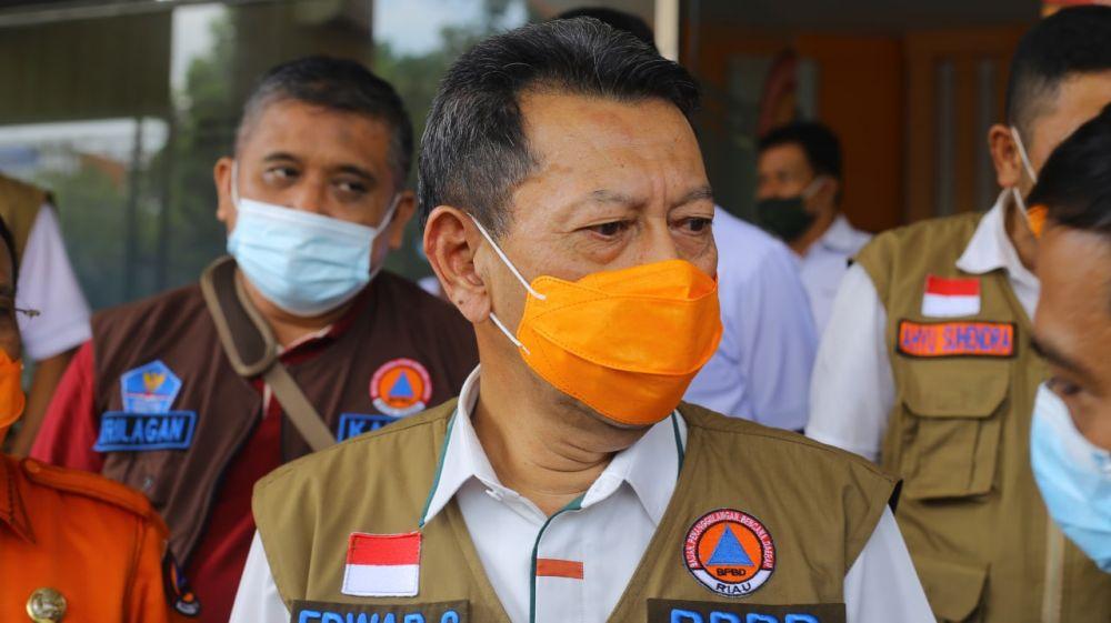 BPBD Riau: Karhutla Terkendali, Sekarang dalam Proses Pendinginan