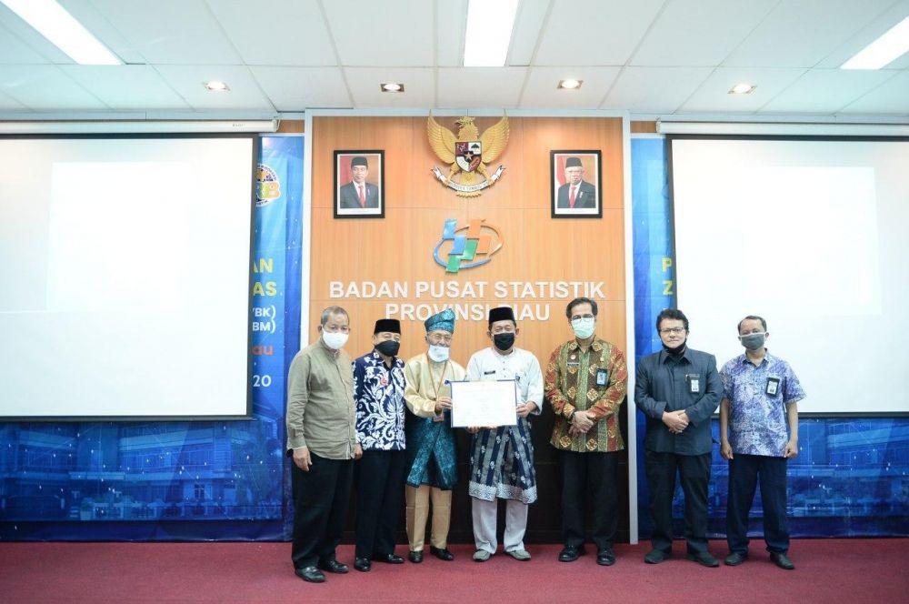 BPS Provinsi Riau Berkomitmen Wujudkan WBK dan WBBM