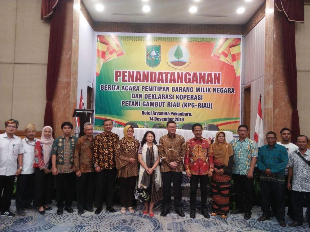 BRG Dukung Inisiatif Petani Bentuk KPG Riau