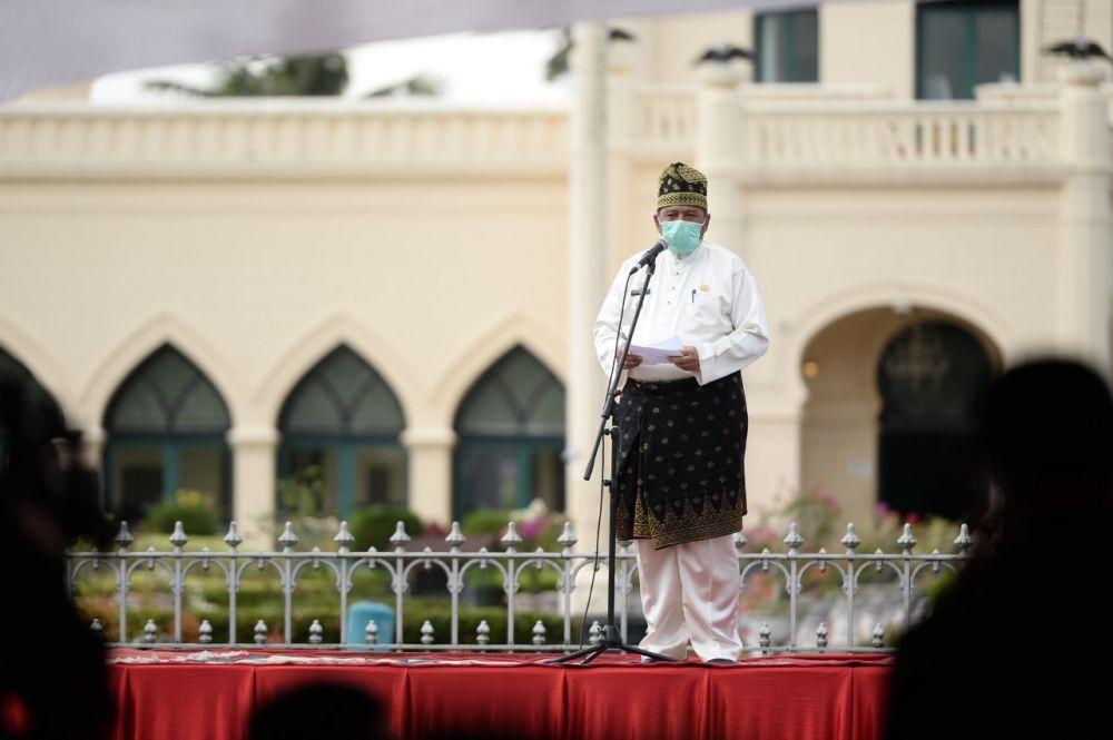 Bupati Siak Apresisi Gerakan Jaga Kampung dari Polda Riau