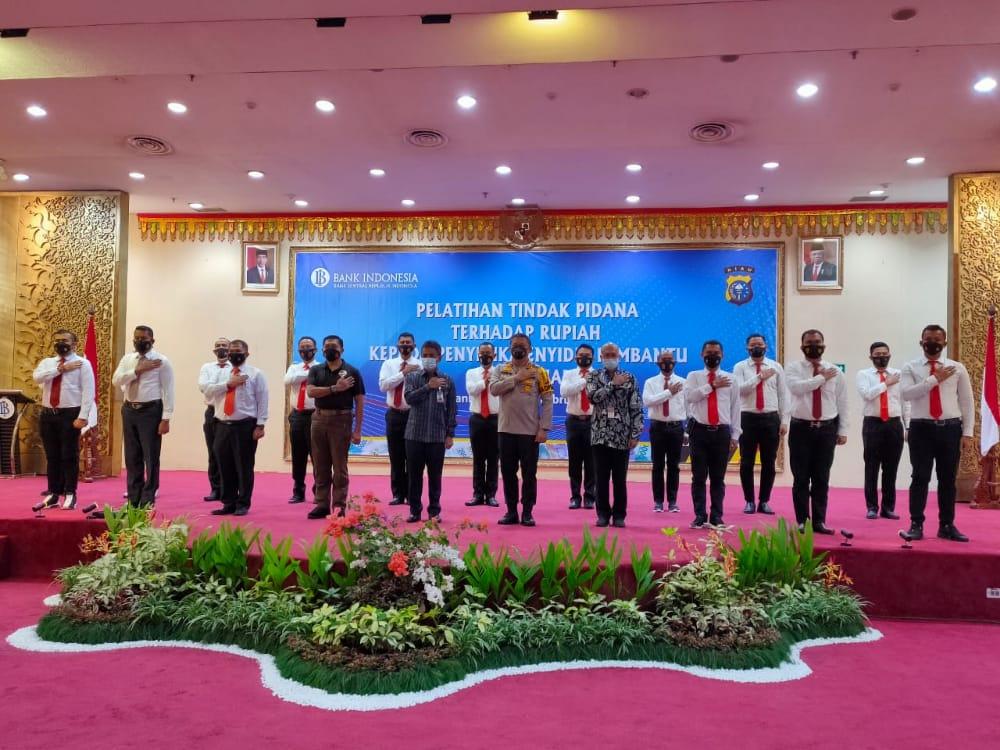 Cegah Peredaran Uang Palsu, BI Gelar Pelatihan Tindak Pidana Rupiah