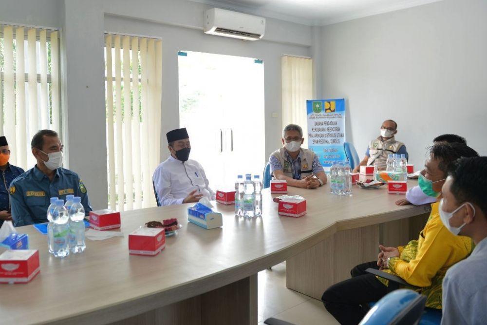 Cek SPAM Durolis, Gubernur Riau Minta Rekrutmen Tenaga Kerja Berkompeten
