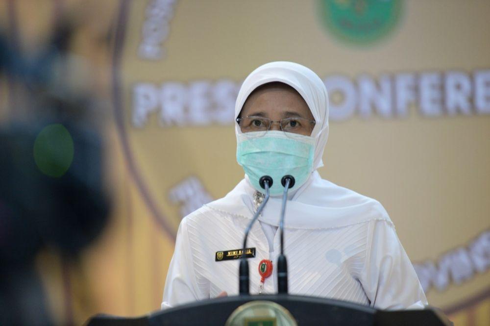 Covid-19 di Riau Bertambah 108 Kasus, 55 Sembuh