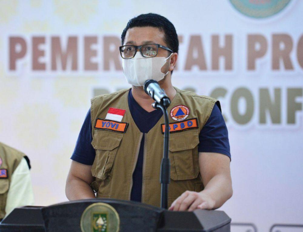 COVID-19 Riau Bertambah 585 Kasus, Di Pekanbaru 252 Pasien Terkonfirmasi Positif