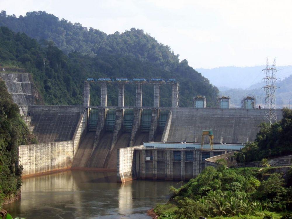 Curah Hujan Tinggi, Ketinggian Air Waduk PLTA Kota Panjang Masih Normal