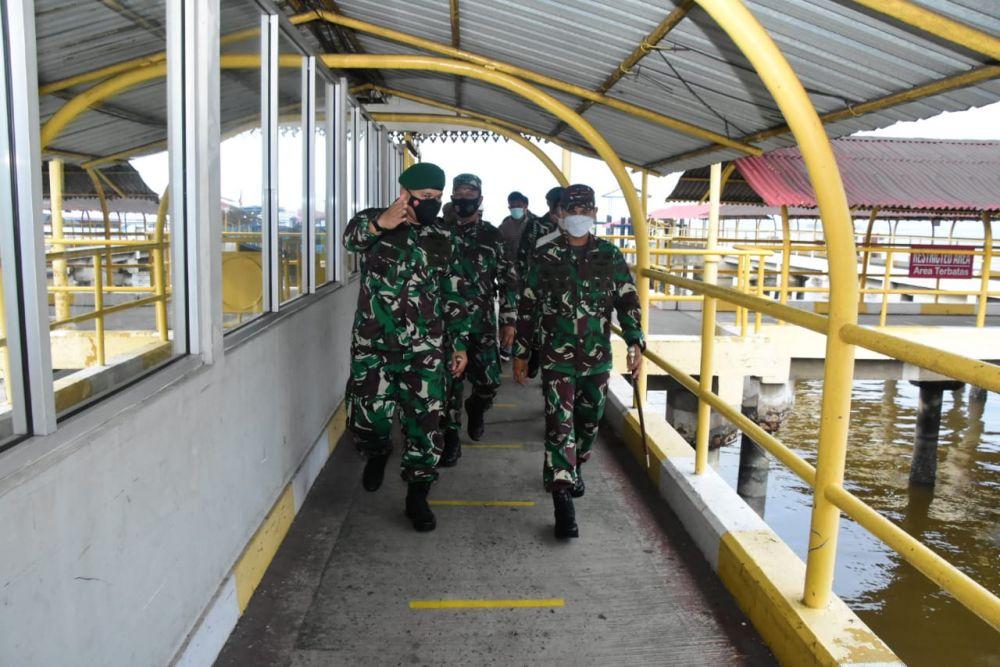 Danrem 031/WB Tinjau Kesiapan Pemulangan Migran Indonesia di Dumai
