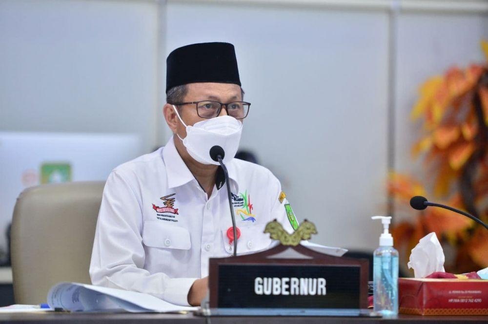 Demi Kelancaran Transparansi PTSL dan TORA, Plh Sekdaprov Riau Minta Pemkab Inhu Tetapkan Kebijakan