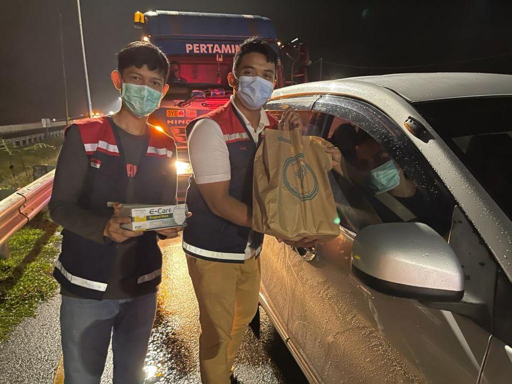 Di Jalan Tol Pekanbaru -Dumai Ada Operasi Ngantuk