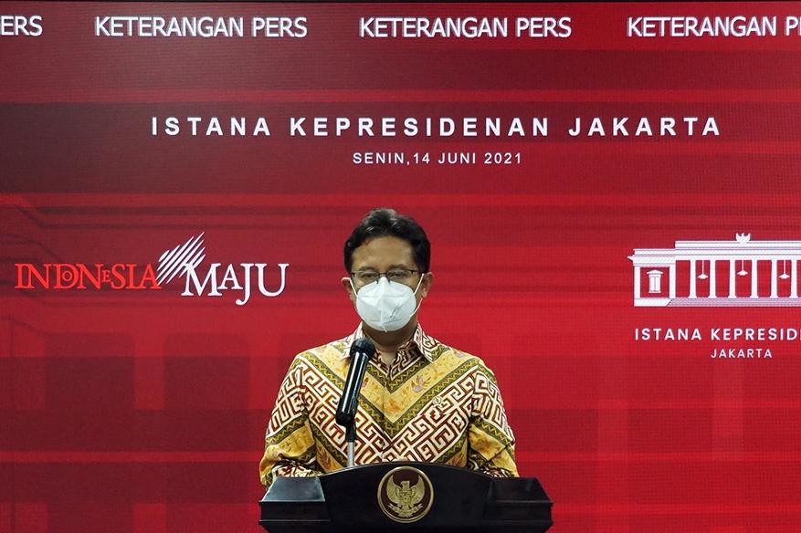 Didukung TNI dan Polri, Pemerintah Targetkan Satu Juta Vaksinasi Per Hari