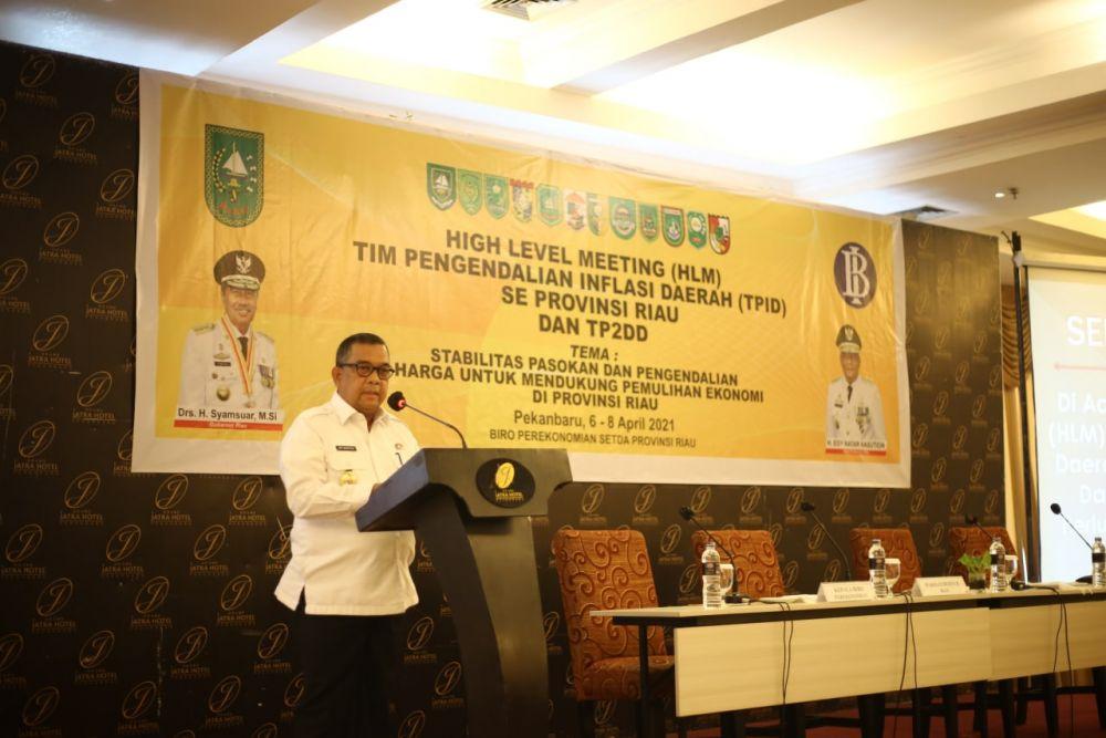 Diperlukan Komitmen Pemangku Kepentingan Dalam Wujudkan Pengendali Inflasi Daerah
