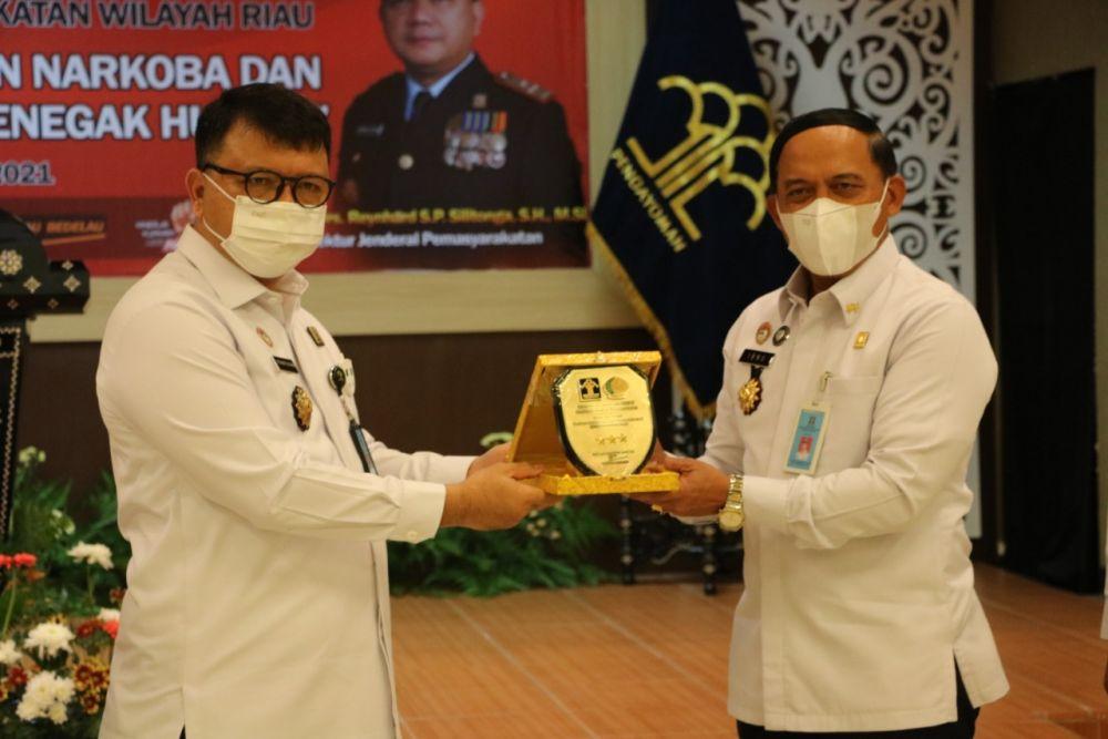 Dirjenpas Apresiasi Blok Pengendali Narkoba Riau