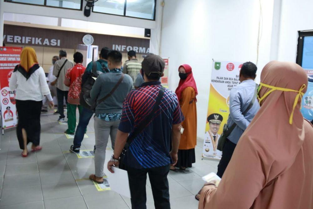 Disambut Antusias Warga, Pemprov Riau Putihkan Rp 5,7 Miliar Denda Pajak Kendaraan Bermotor
