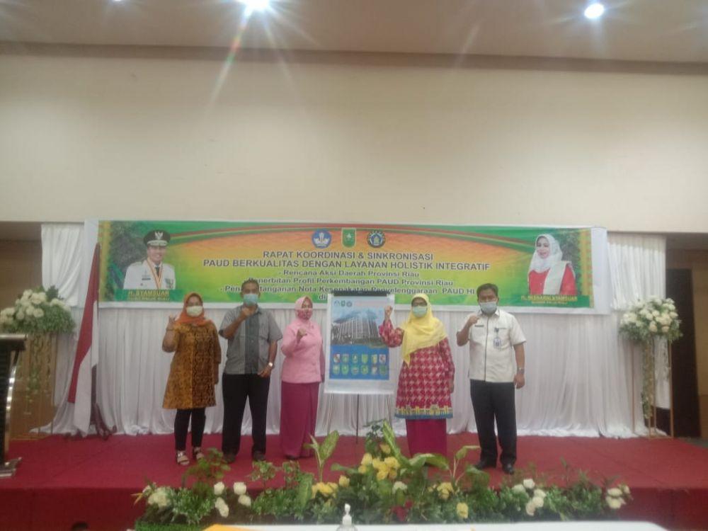 Disdik Riau Buka Rakor dan Sinkronisasi PAUD Berkualitas Dengan Layanan HI