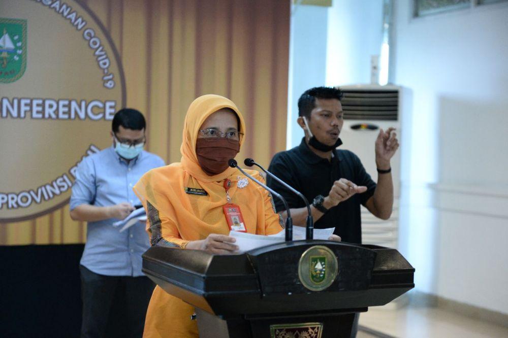 Diskes Riau Imbau Masyarakat Perhatikan Asupan Gizi Ibu Hamil dan Bayi