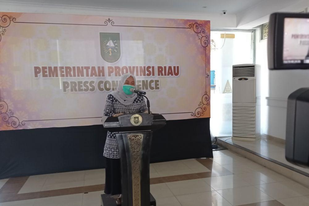 Diskes Riau Ingatkan Masyarakat Waspadai Momen-Momen Yang Jadi Waktu Penularan COVID-19