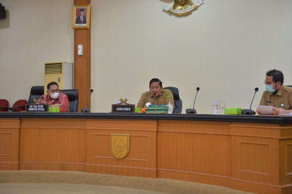 DPRD Sumut  Kunjungan Kerja Ke Riau Bahas Strategi Pembangunan Di Masa Pandemi Covid-19