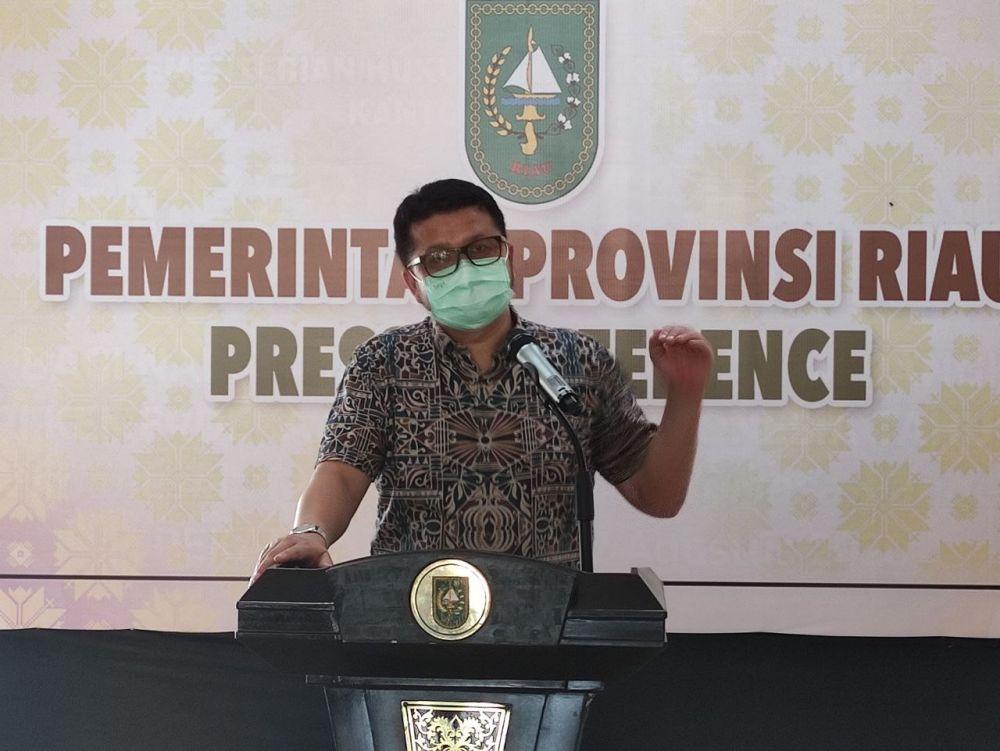 dr Indra Yovi: Pasca Lebaran Kasus Positif di Riau Meningkat Masih dari Klaster Keluarga